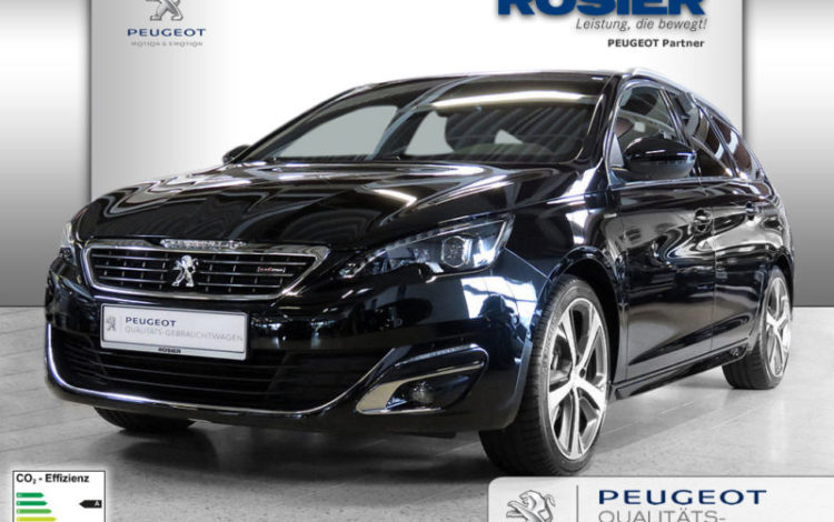 peugeot 308 sw gt line fouesnant auto import. Black Bedroom Furniture Sets. Home Design Ideas
