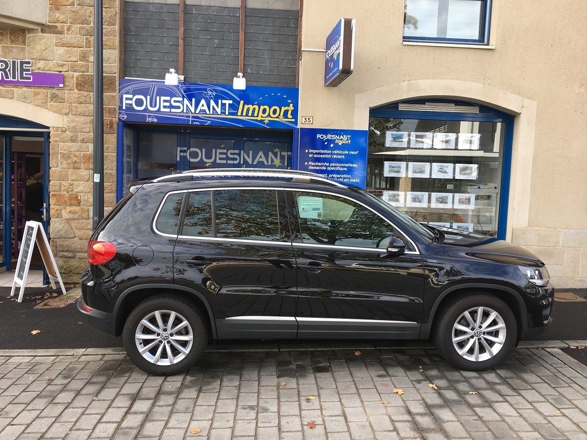 volkswagen tiguan 2 0 tdi lounge fouesnant auto import. Black Bedroom Furniture Sets. Home Design Ideas